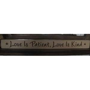 Is Patient , Love Is Kind * Theme Song From Angie LOL