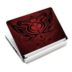 Red Art Decal Laptop Notebook Protective Skin Cover