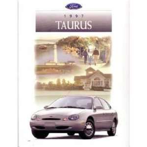 1997 FORD TAURUS Sales Brochure Literature Book Piece