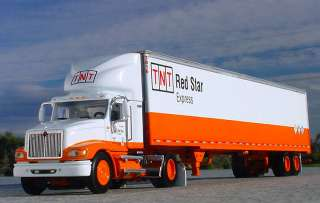 TNT RED STAR EXPRESS   INTERNATIONAL 9100i SEMI TRUCK   31649