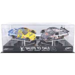"to Dale"" Two Car Display Case with Platform"