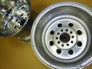 Nice Polished Cragar 15x14 Chevy Mopar Ford Wheels