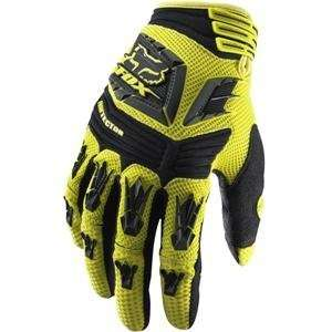 Fox Racing Pawtector Gloves   11/Yellow Automotive