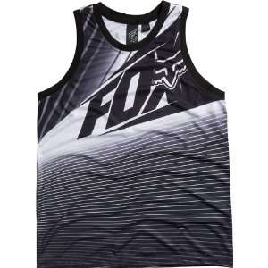 Fox Racing Enterprize Jersey Mens Tank Race Wear Shirt   Black / 2X