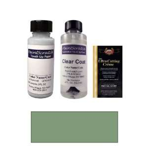 Oz. Silver Green Metallic Paint Bottle Kit for 1973 Mercedes Benz