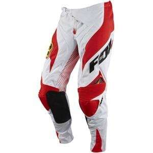 Fox Racing Platinum A1 Race Pant White/Red W30 Automotive