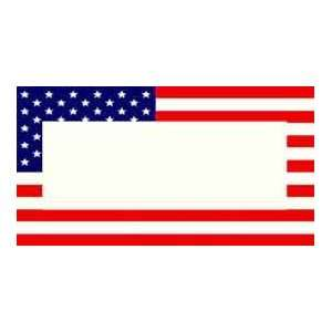 Plate   American Flag Plastic License Plate Frame   #9509 Automotive