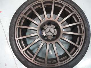 19 OEM MERCEDES BENZ CLK63 AMG BLACK SERIES WHEELS BRONZE E55 CLS55