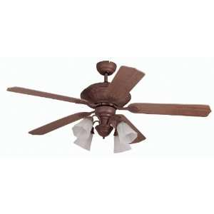 Melissa Four Light Down Lighting Five Blade Indoor Ceiling Fan from