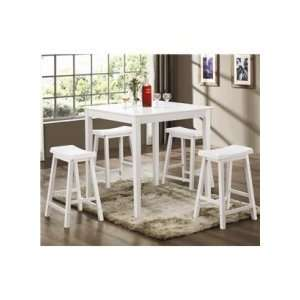 Bruton 5 Piece Counter Height Table Set   Coaster 150294N