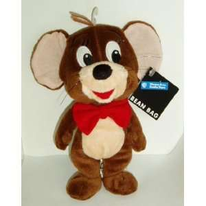 Bros Studio Store Bean Bag 1998 Mouse   Jerry Stuffed Animal Plush