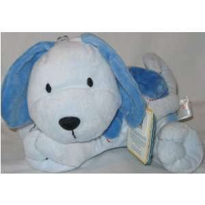 Carters Just One Year Blue Spotted Puppy Dog Plush Lovey