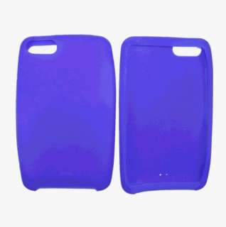 Blue Silicone Skin Case for Apple iPod Touch 2 3 2G 3G