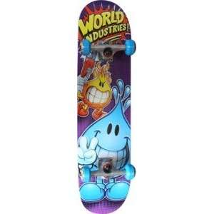 World Industries Whacking Willy Complete Skateboard   7.75