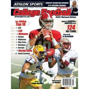 Athlon Sports 2012 College Football National Preview Magazine  Alabama