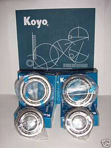 KOYO Toyota Tacoma 2WD Front Wheel Bearings 95 04