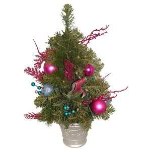 Pre Lit Pink Candy Fantasy Decorated Artificial Christmas Tree