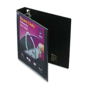Nonstick Heavy Duty EZD Reference View Binder, 1 1/2