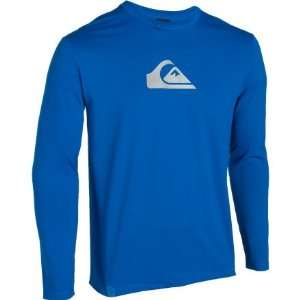 Quiksilver Solid Streak Surf Shirt   Long Sleeve   Mens