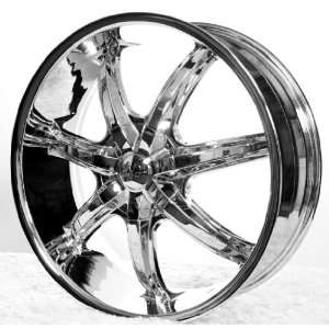 High End 24 Ac35 S Wheels & Tires Pkg 4Pcs 24X10 (5, 6Lug