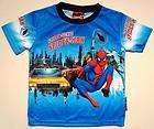 Disney Spider Man Cartoons Boys T.Shirt Size 4 Age 3 4