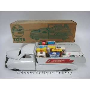 Buddy L Supermarket Delivery Truck Toys & Games