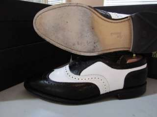 Allen Edmonds Broadstreet 11D black & white