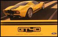 2002 2003 Ford GT40 Original Concept Car Brochure, 500 HP NOS MINT 02