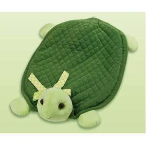 Bearington Bears Baby Tiggles Turtle Plush Belly Play Mat