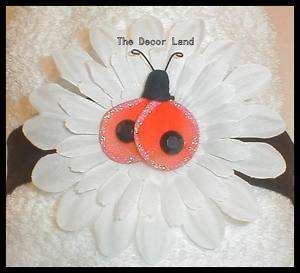 Black Ladybug HEADBAND Toddler Infant Baby Girls Dress Up Hair