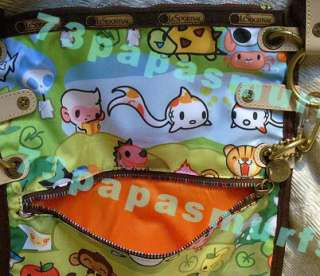 VERY RARE Tokidoki *FORESTA CIAO* Crossbody Bag NWT GREEN~CUTE Baby