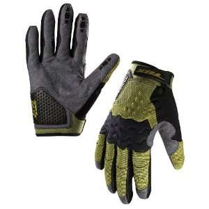 RACING SIDEWINDER BIKE GLOVES OLIVE GREEN XL(11)