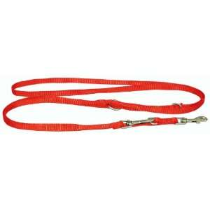 Inch Single Thick Nylon European Lead, Brick Red