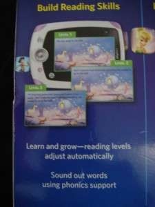 LEAP FROG LEAPPAD EXPLORER WITH CAMERA & VIDEO+ 4 APPS PURP/PNK GAMES