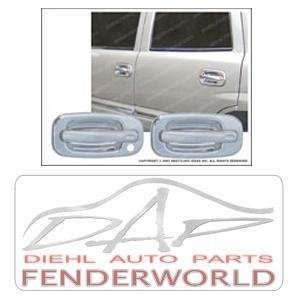 CHEVY/GMC PICKUP 88 98 4DR TFP CHROME HANDLE COVERS Automotive
