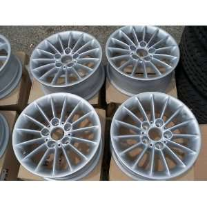 4 BMW 5 Series 528i/530i 16 Alloy Silver Wheels
