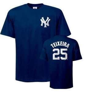 Mark Teixeira #25 New York Yankees Name and Number T Shirt