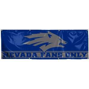 NCAA Nevada Wolf Pack 2 by 6 Foot Vinyl Banner Sports