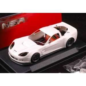 Chevrolet Corvette C6R   Plain White Kit (NSR1071AW) Toys & Games