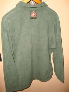 USMC Marine Corps Military Surplus Polartec Fleece Pullover Shirt