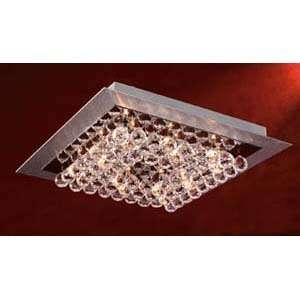 PLC Lighting 72114 Petula Aluminum Flush Mount