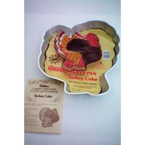 Wilton 1979 Thanksgiving Christmas Turkey Cake Pan with Instructions