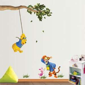 Winnie the Pooh & Tigger Childrens Nursery Wall Stickers