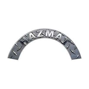 HAZMAT Diamond Plate Firefighter Fire Helmet Arcs / Rocker