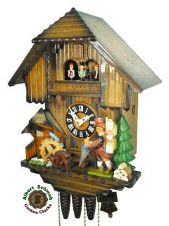 Black Forest Cuckoo Clock 1 Day Music Clock Seller NEW
