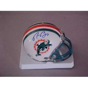 Ronnie Brown Hand Signed Autographed Miami Dolphins Football Riddell