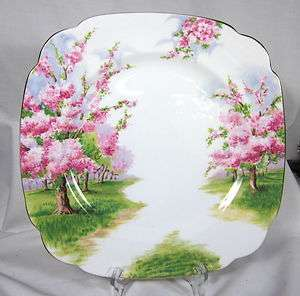 ELEGANT ROYAL ALBERT BLOSSOM TIME DINNER PLATE BONE CHINA