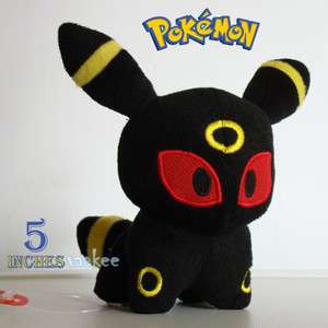 Game Plush Toy Umbreon 5 Collectible Soft Stuffed Animal Doll