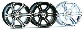 NEW 12 ATV WHEELS RIMS SET ITP SS212 BIG RED MUV UTV