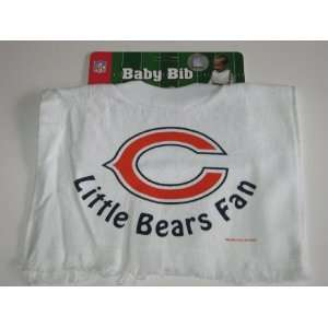 CHICAGO BEARS Team Logo Terry Velour Pullover BABY BIB
